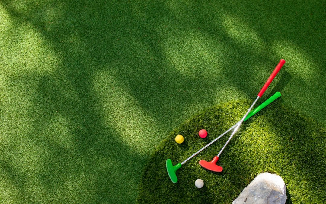 Artificial Grass Putting Greens in Vacaville: Don't Let Rain Get in the Way of Your Golf Game